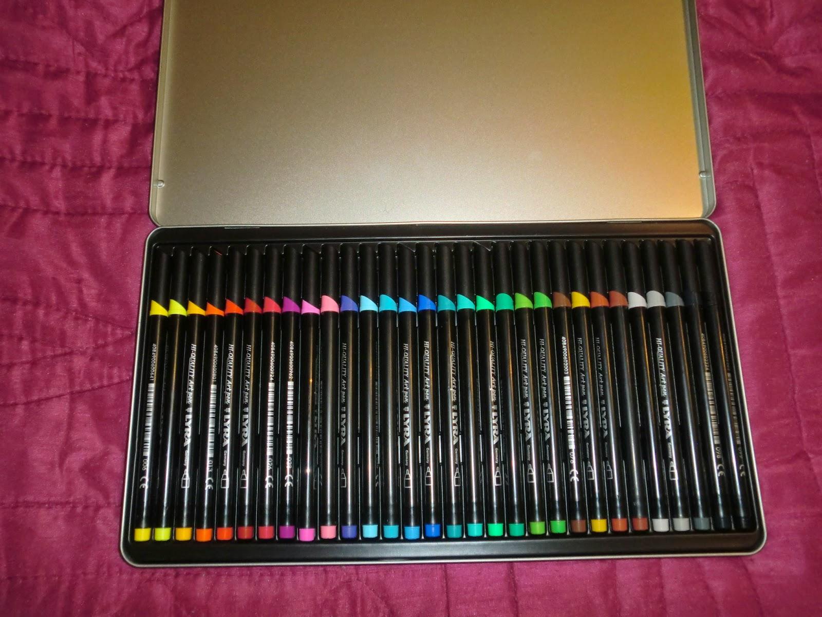 feutre coloriage lyra
