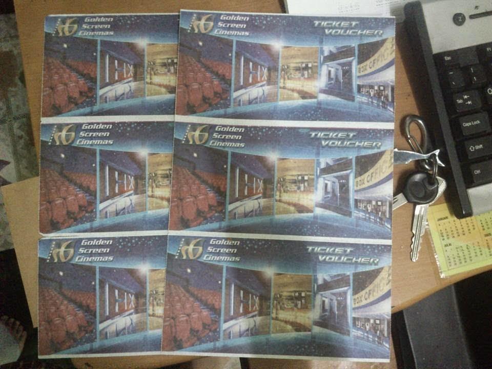 Voucher Tiket wayang GSC For Sale