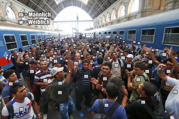 Medien bejubeln Masseninvasion in unser Land