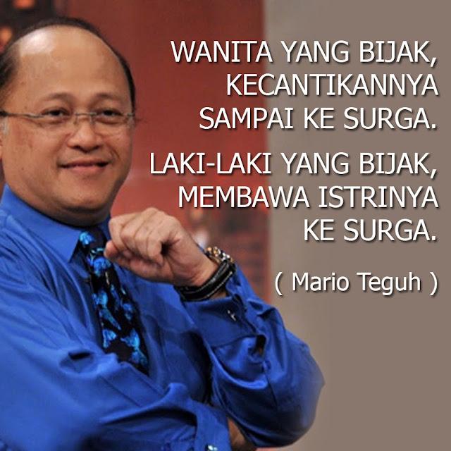 Quotes Mario Teguh Paling Populer 2016 Dp Bbm Kata Bijak