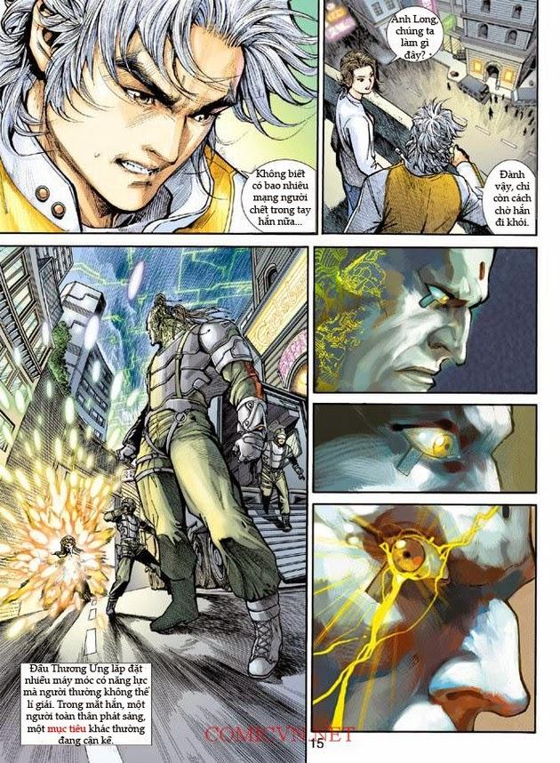 Thần Binh Khoa Huyễn Ký chap 2 - Trang 15