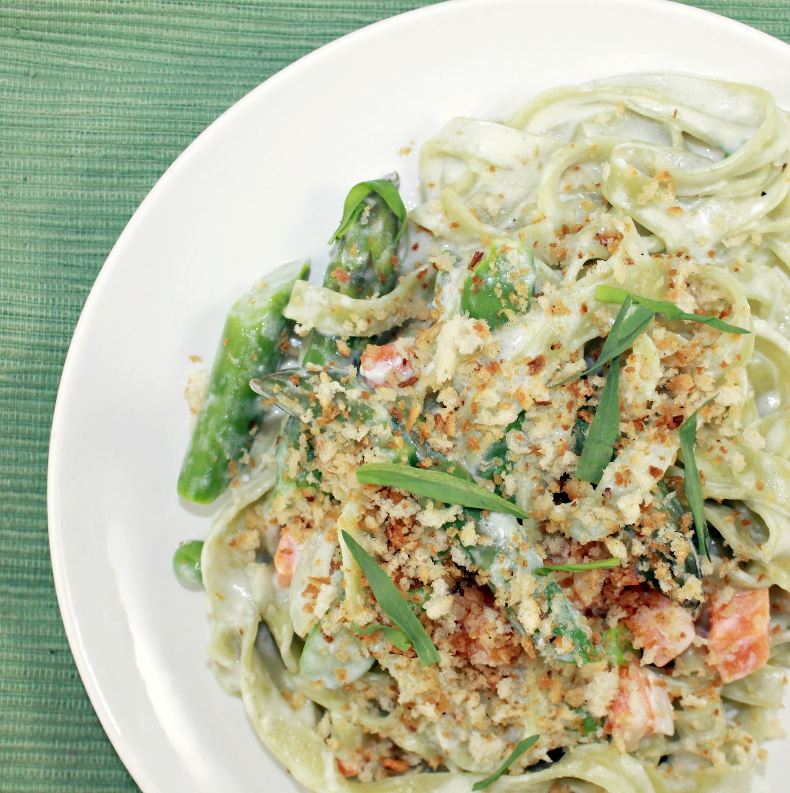 Creamy Spring Pasta | I Can Cook That
