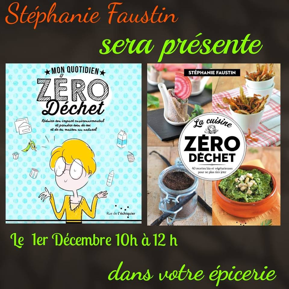 RDV à l'épicerie Day by Day 3 rue Vernier NICE Samedi 1er décembre