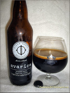 River North Avarice Belgian-style Imperial Stout