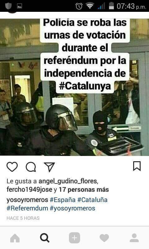 Cuando la policia se roba la democracia