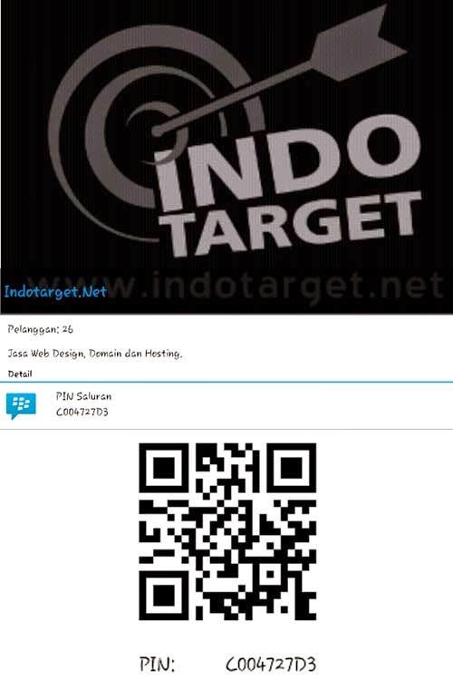 BBM Channel Indotarget.Net
