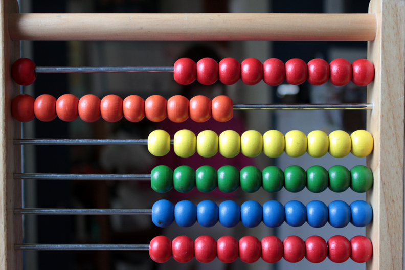 how to use abacus for addition