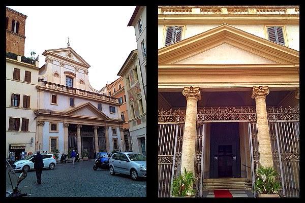 Kościół S. Eustachio w Rzymie