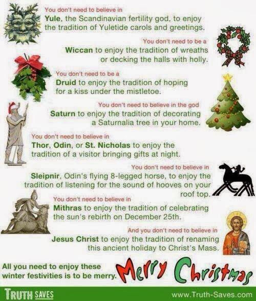 Christmas Traditions and Pagan Origins - PowerOfBabel: Christmas Traditions And Pagan Origins