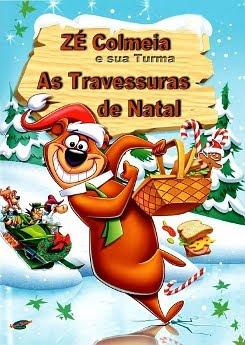 Filme Poster Zé Colmeia & Sua Turma - As Travessuras de Natal XviD & RMVB Dublado