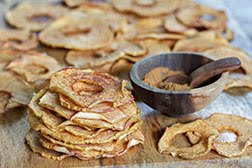 Cinnamon Maple Apple Chips ~ Cooking with Kids