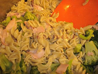 Quick-Fix Gluten-Free Pasta With Ham And Broccoli