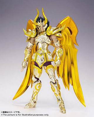 Capricorn Shura Myth Cloth EX della Bandai