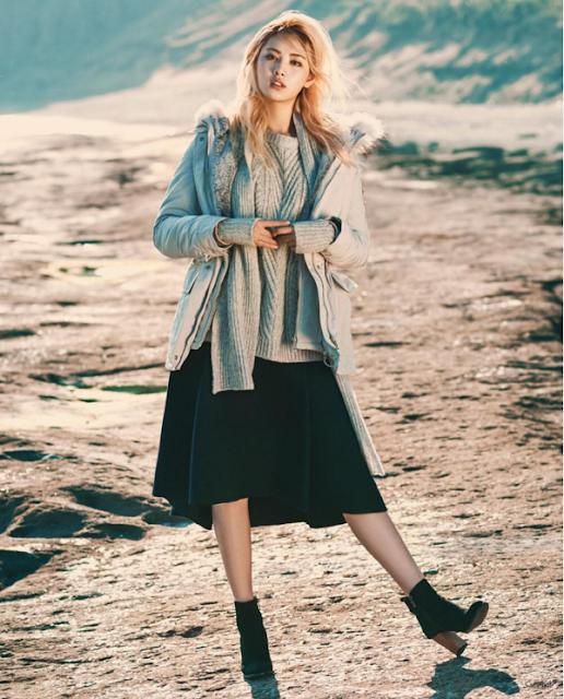 Steal Nana's Ocean Winter Look: Grey layering