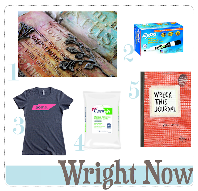 #right now #wright now #2016 #wreck this journal #tennessee
