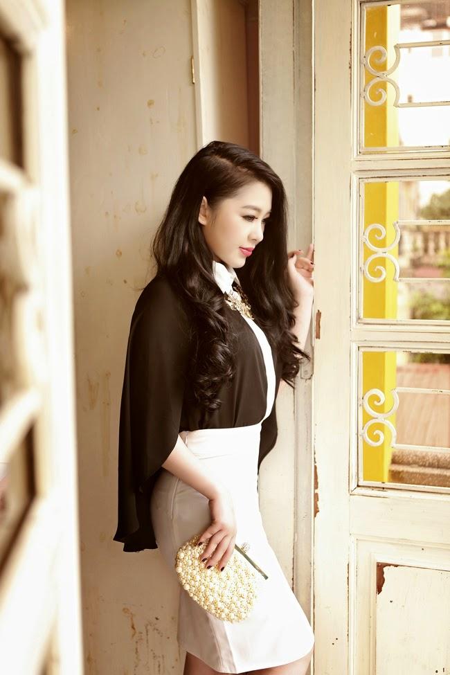 Hot Girl Jane Nguyen boast exquisite beauty