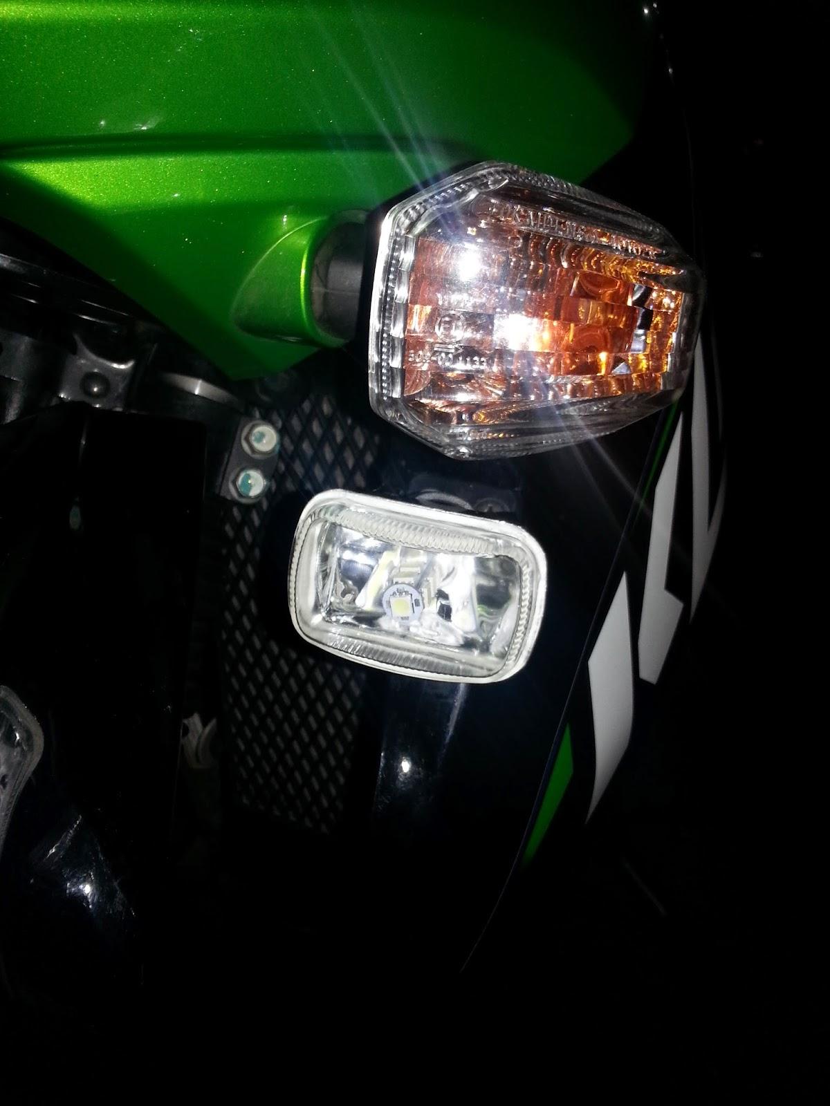 My Klr 650 Mods And Farkles  Klr650 Aux Lights