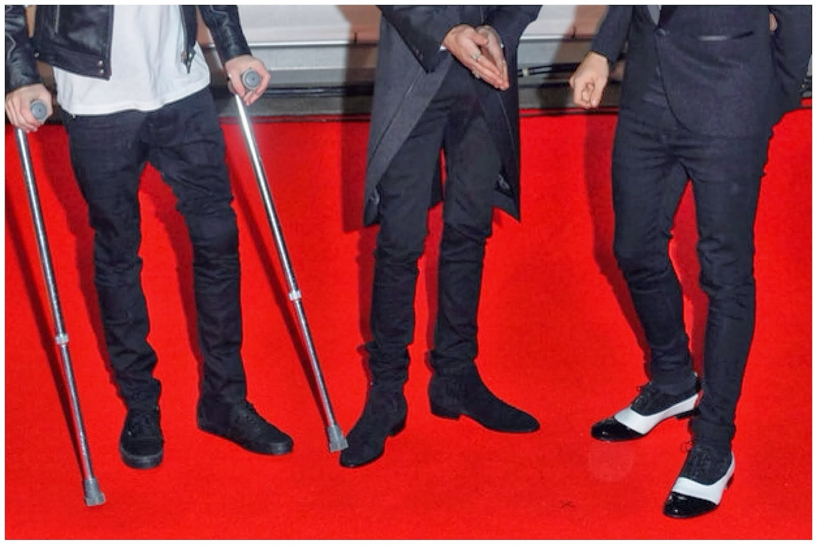 Louis Tomlinson's Mr.Hare 'Fitzgerald' Shoes - Brit Awards 2014