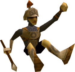 El Soldado Hylian  en Zelda