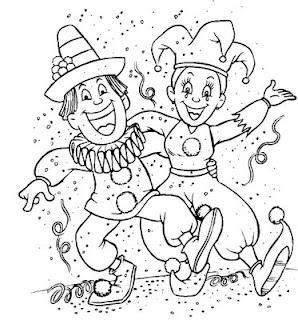 Riscos para patchwork e pintura de Carnaval