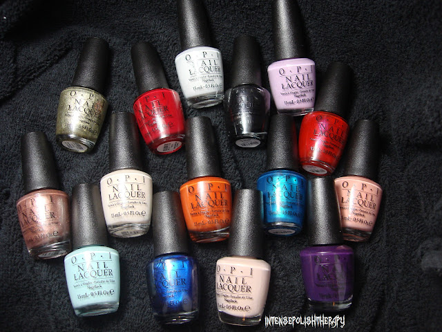 OPI Venice Collection Swatches