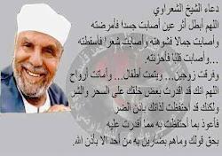 دعاء الشيخ الشعراوى