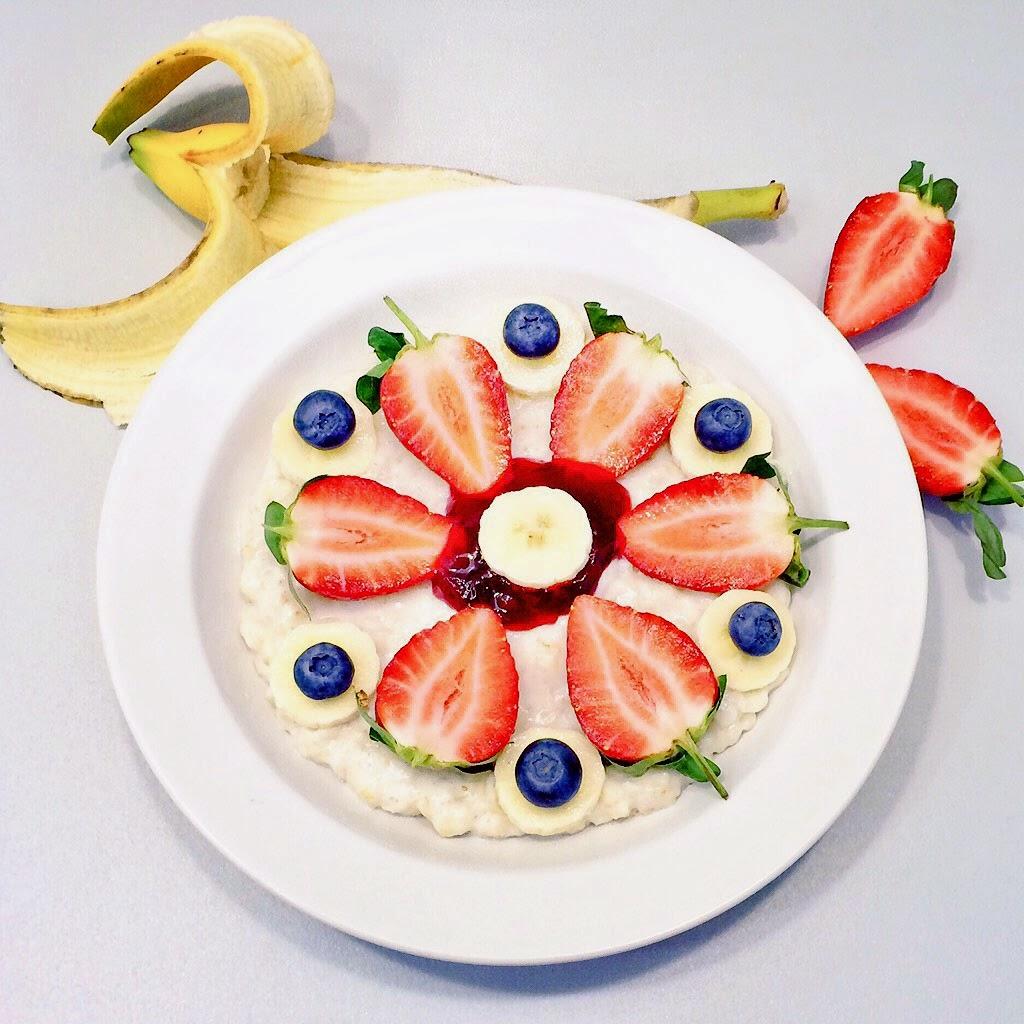 bezglutenowe vegan raw sniadanie owsianka oatmeal