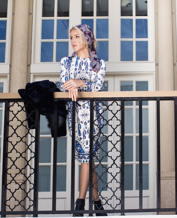 The Supper Model Tory Burch Fall 2015 Navy