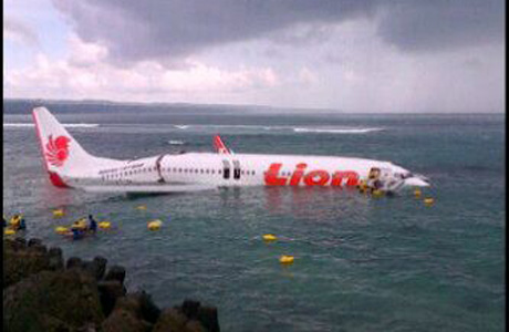 Lion Air 737-800 PK-LKS Kecelakaan di Bali