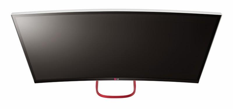 Взгляд с верху моноблока LG 29V950