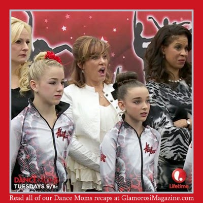 Cast members from Lifetime TV's Dance Moms