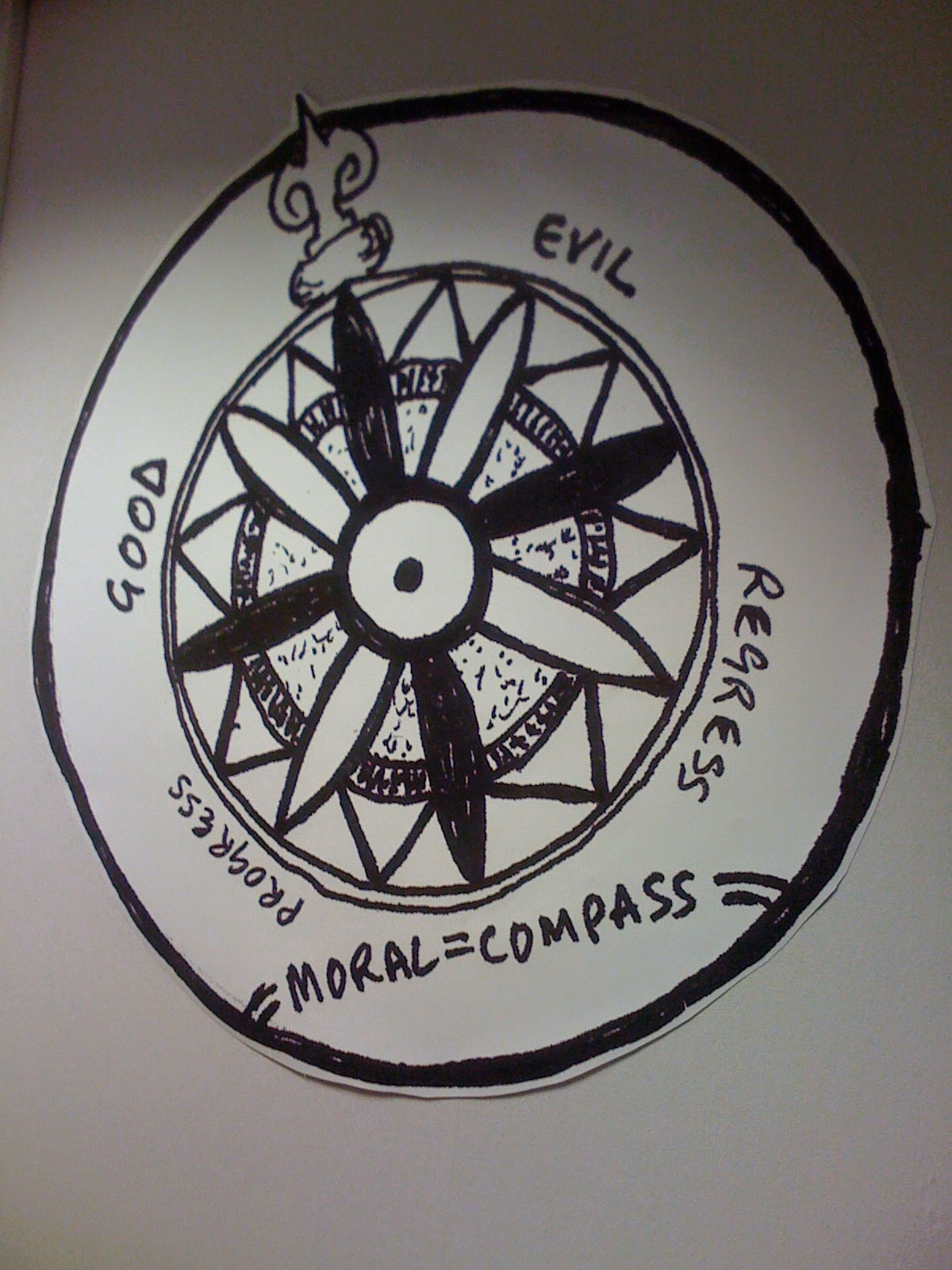 my moral compass Carl wiens every day, our kids face any number of moral dilemmas should i tell  the truth should i copy from my friend's homework, or let him copy from mine.