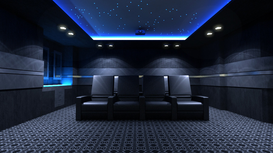 Lakhbir Singh: Home Theater Room