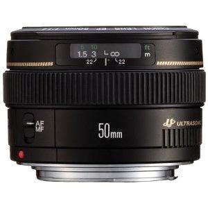 عدسة كانون 50mm f/1.4