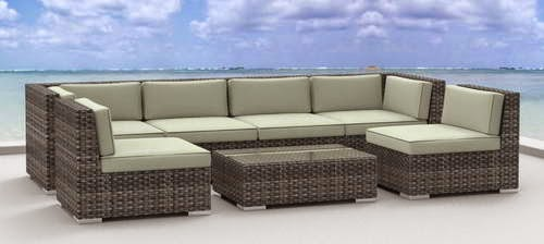 Recommended Wicker Rattan Outdoor Patio Sofa Set Good home good life