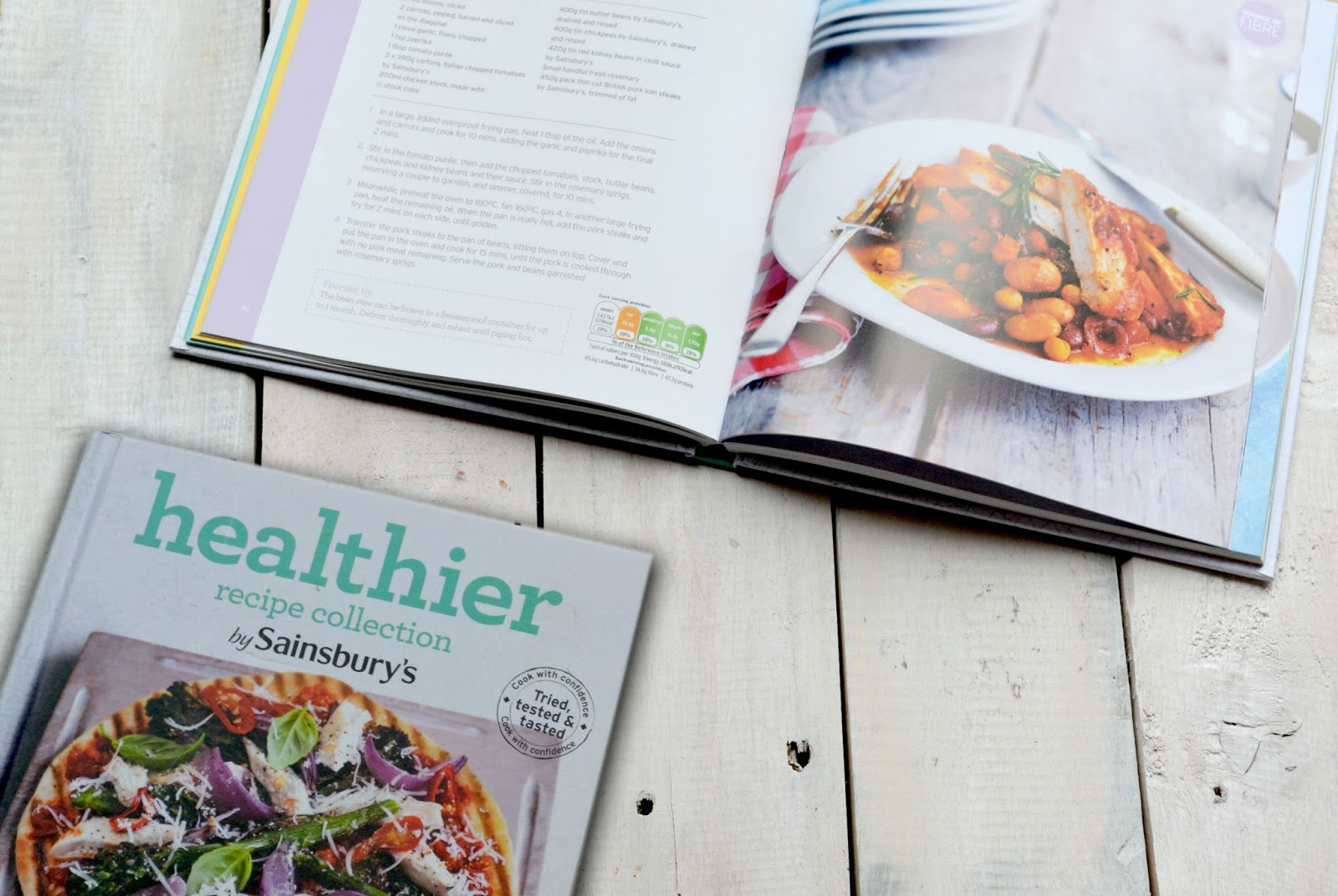 Sainsburys Healthier Recipe Collection