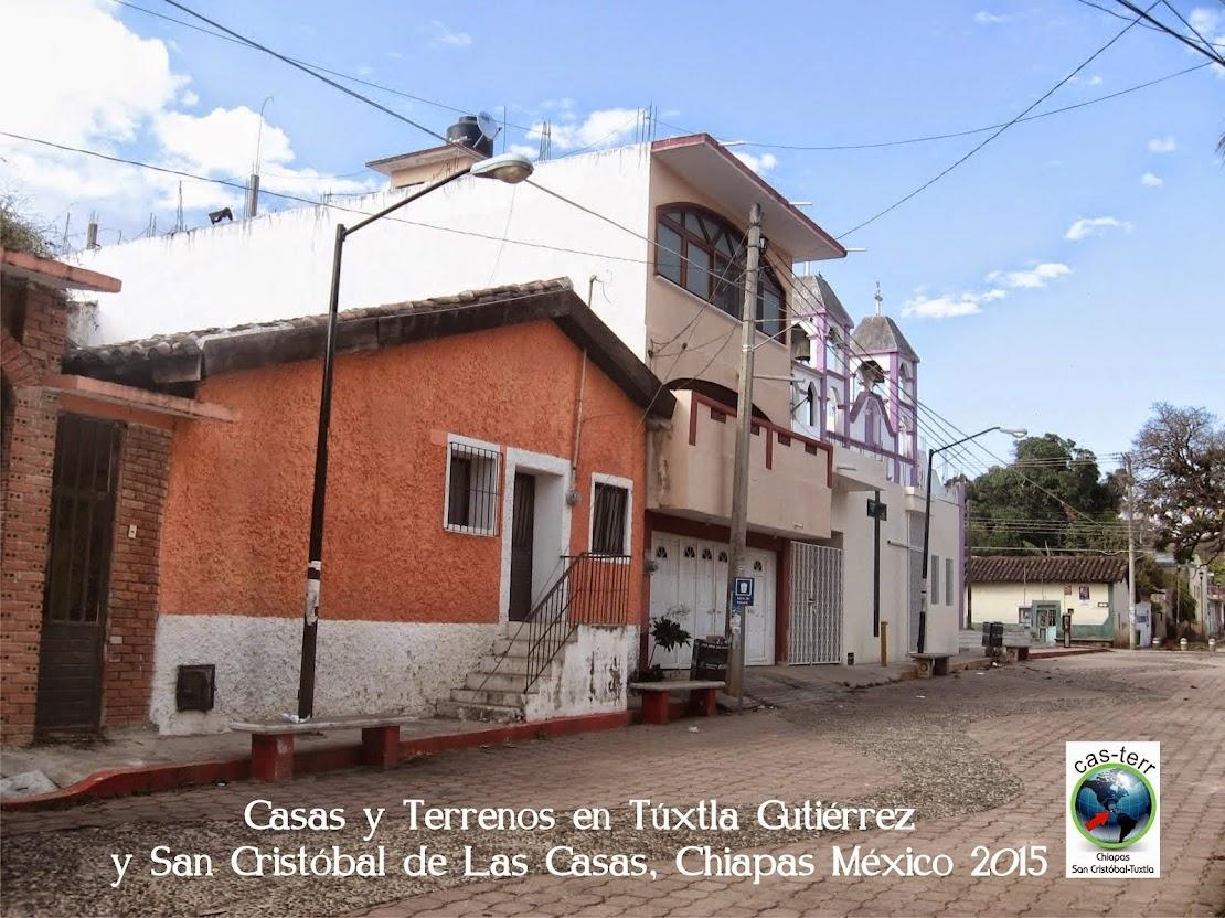 Casas y Terrenos en Túxtla y San Cristóbal Chiapas