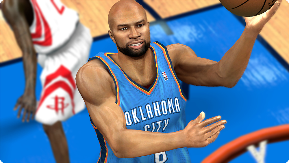 NBA 2K14 Derek Fisher Face Mod