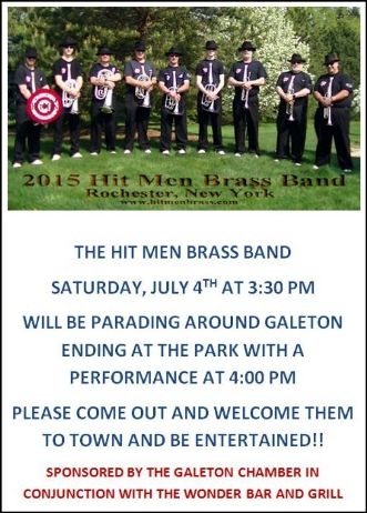 7-4 Hit Men Brass Band, Galeton