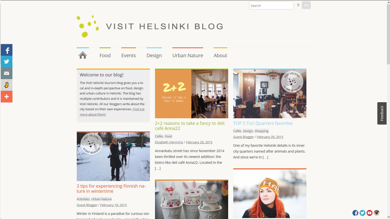 Visit Helsinki Blog