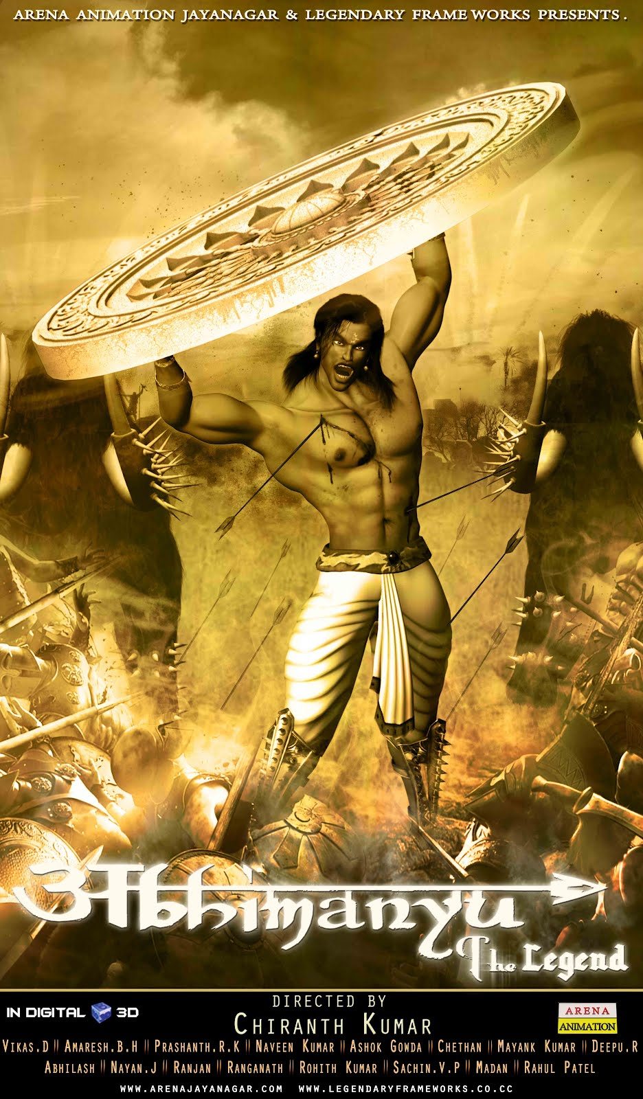 chiranth  abhimanyu the legend