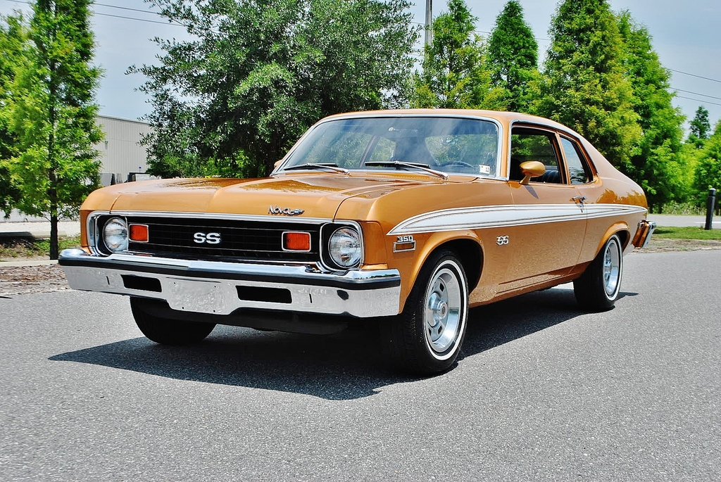 All American Classic Cars: 1973 Chevrolet Nova SS 2-Door Coupe