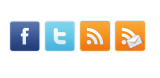 subscribe, facebook, twitter,feedburner, buttons