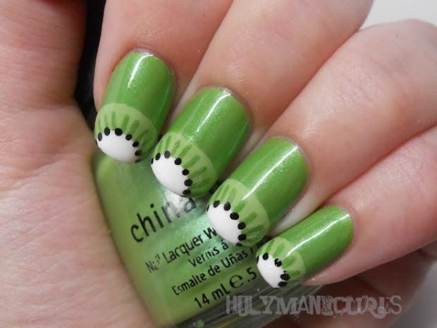 holy manicures kiwi nails