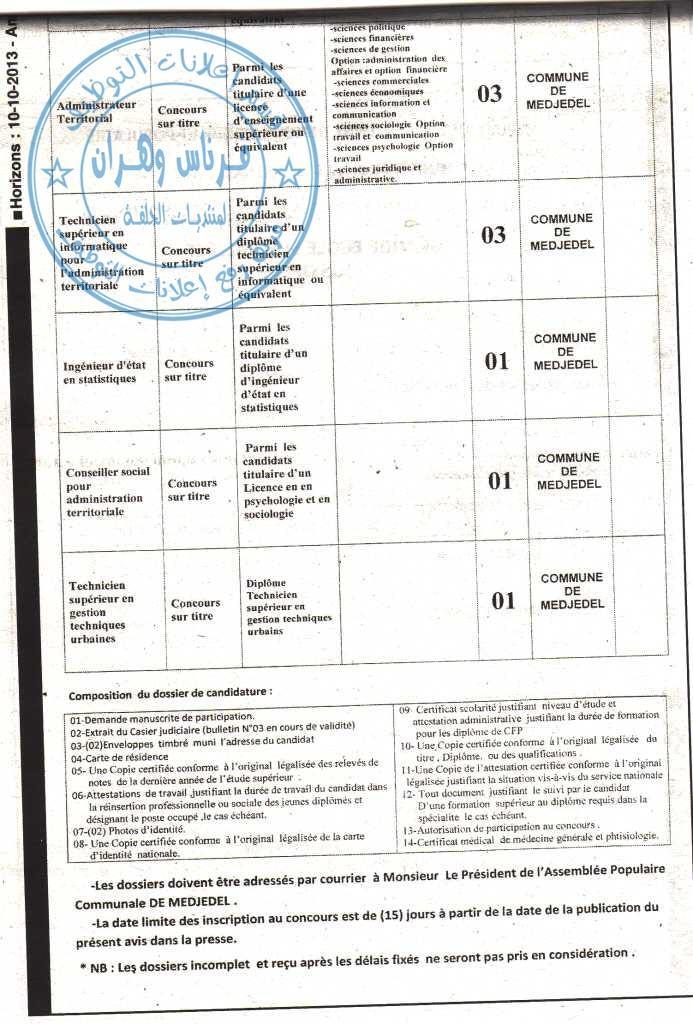 التوظيف في بلدية أمجدل ولاية المسيلة أكتوبر 2013 678912943.jpg