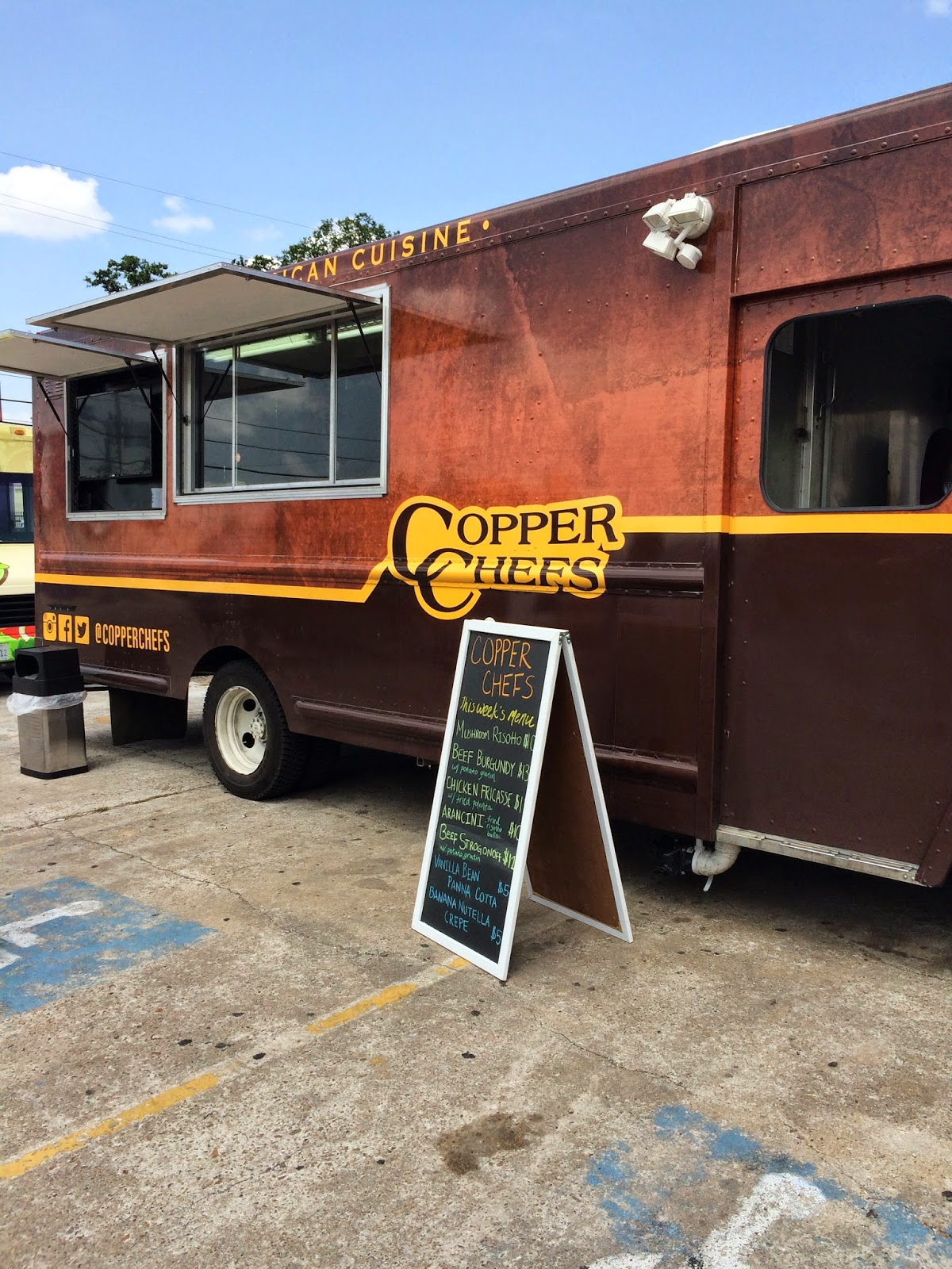 Copper Chefs Food Truck, Houston, TX - photo by Lemon Jello