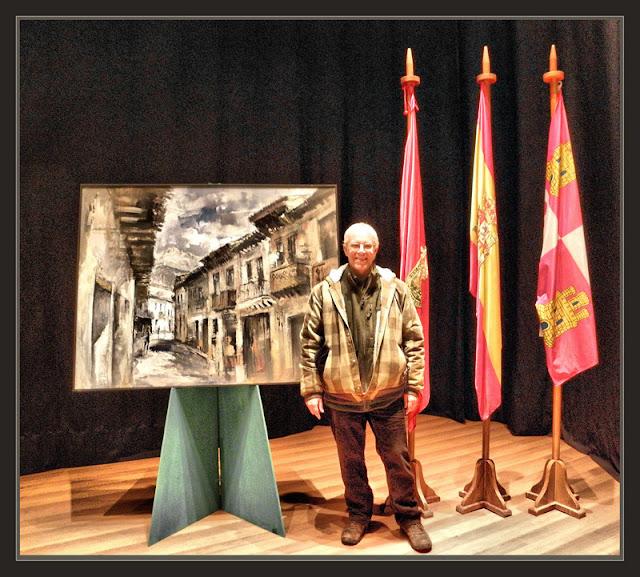 ARENAS DE SAN PEDRO-PINTURA-AVILA-ESPAÑA-PREMIOS-CONCURSOS-CUADROS-SAN ESTEBAN DEL VALLE-FOTOS-PINTOR-ERNEST DESCALS-