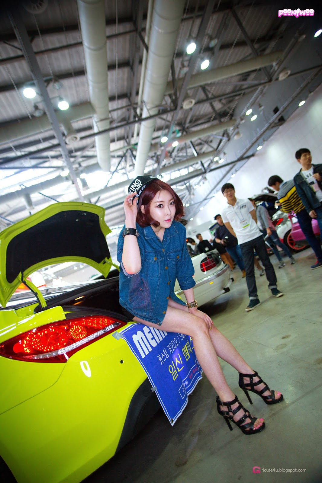 1 Na Young - Automotive Week 2014 - very cute asian girl-girlcute4u.blogspot.com