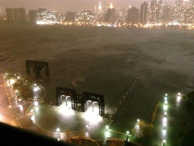 Hurricane Sandy Hits New Jersey And New York