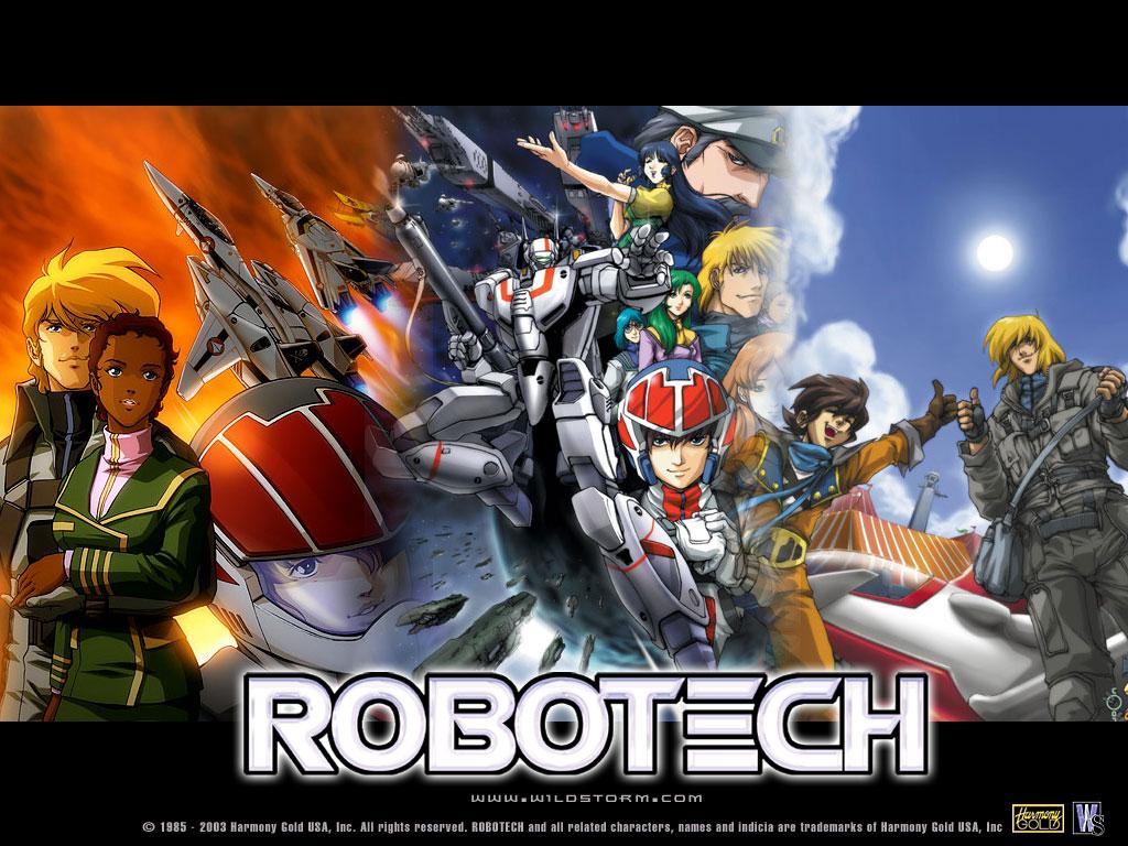 Robotech por artistas 3d de Taringa!